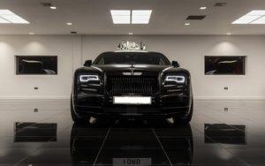Rolls Royce Wraith – Black